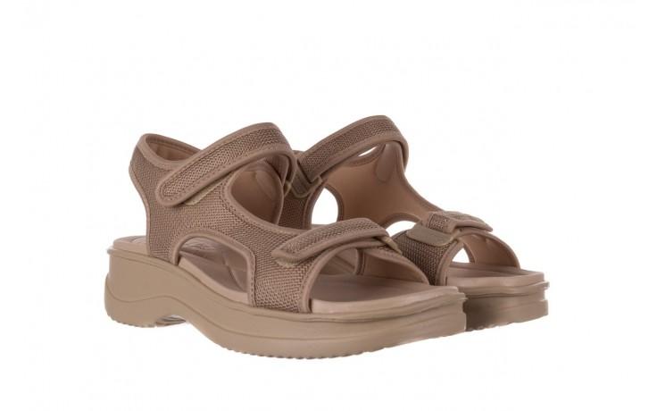 Sandały azaleia 320 323 beige sand 20, beż, materiał - sandały - buty damskie - kobieta 1