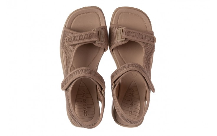 Sandały azaleia 320 323 beige sand 20, beż, materiał - sandały - buty damskie - kobieta 4