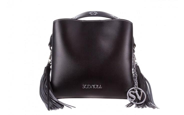 Torebka sca'viola torebka t-26 black, czarny, skóra ekologiczna  - sca`viola - nasze marki