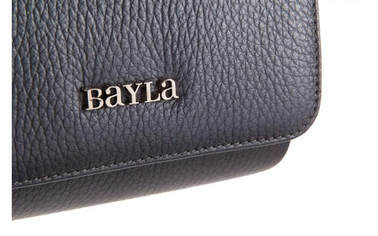Torebka bayla-165 torebka camilla szara, skóra naturalna  - bayla - nasze marki 3