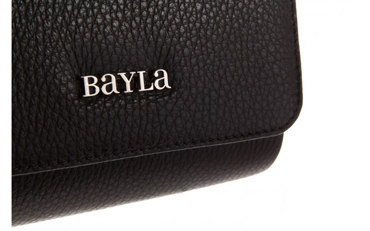 Torebka bayla-165 torebka camilla czarna, skóra naturalna  - bayla - nasze marki 3