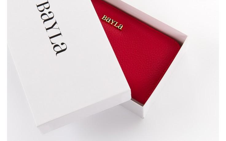 Bayla-165 portfel maddy czerwony - bayla - nasze marki 1