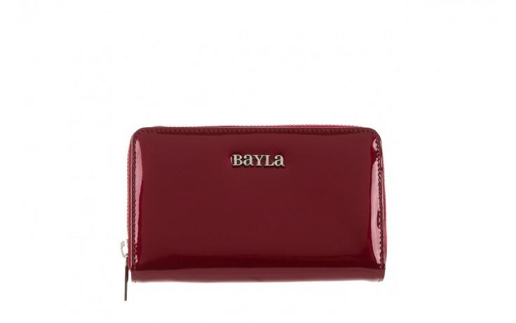 Bayla-165 portfel revel bordowy - akcesoria - kobieta - halloween do -30%