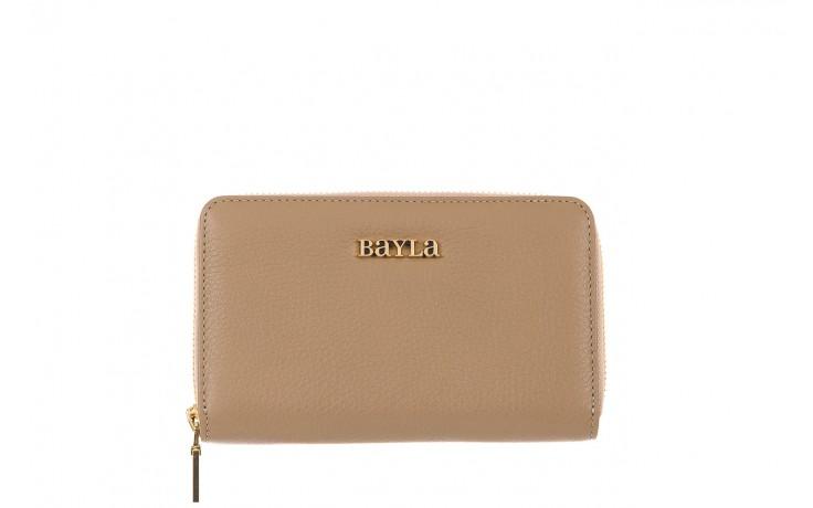 Bayla-165 portfel revel beżowy - akcesoria - kobieta