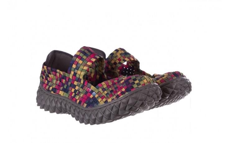 Półbuty rock over fuchsia purple yellow smoke, wielokolorowy, materiał  - obuwie sportowe - buty damskie - kobieta 1