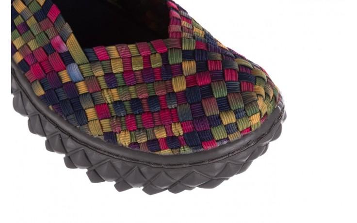 Półbuty rock over fuchsia purple yellow smoke, wielokolorowy, materiał  - obuwie sportowe - buty damskie - kobieta 6