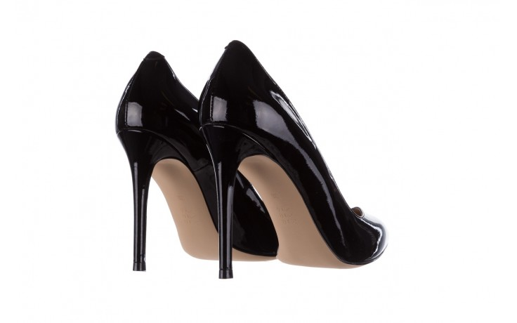 Szpilki bayla-182 17105 czarny lakier, skóra naturalna lakierowana  - do szpica - szpilki - buty damskie - kobieta 3