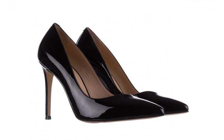 Szpilki bayla-182 17105 czarny lakier, skóra naturalna lakierowana  - do szpica - szpilki - buty damskie - kobieta 1