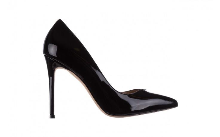 Szpilki bayla-182 17105 czarny lakier, skóra naturalna lakierowana  - do szpica - szpilki - buty damskie - kobieta