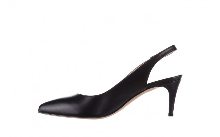 Sandały bayla-182 18014 czarne lico, skóra naturalna  - skórzane - szpilki - buty damskie - kobieta 2