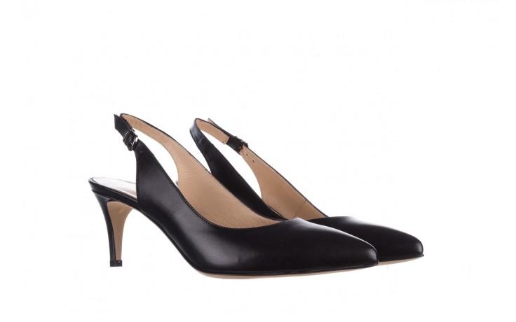 Sandały bayla-182 18014 czarne lico, skóra naturalna  - skórzane - szpilki - buty damskie - kobieta 1