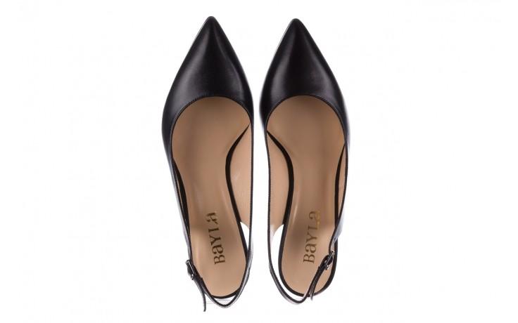 Sandały bayla-182 18014 czarne lico, skóra naturalna  - skórzane - szpilki - buty damskie - kobieta 4