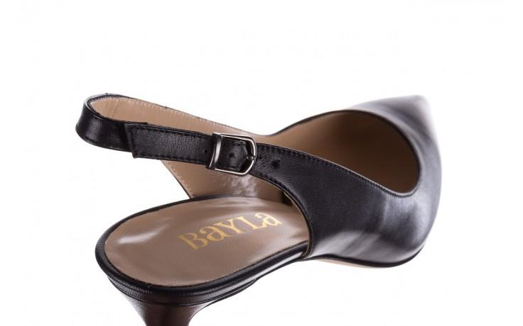 Sandały bayla-182 18014 czarne lico, skóra naturalna  - skórzane - szpilki - buty damskie - kobieta 5