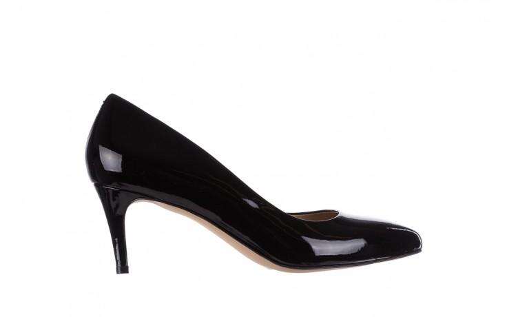 Czółenka bayla-182 6168 czarny lakier, skóra naturalna lakierowana  - skórzane - szpilki - buty damskie - kobieta