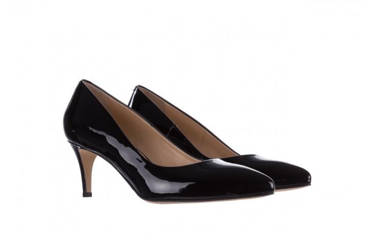 Czółenka bayla-182 6168 czarny lakier, skóra naturalna lakierowana  - skórzane - szpilki - buty damskie - kobieta 1