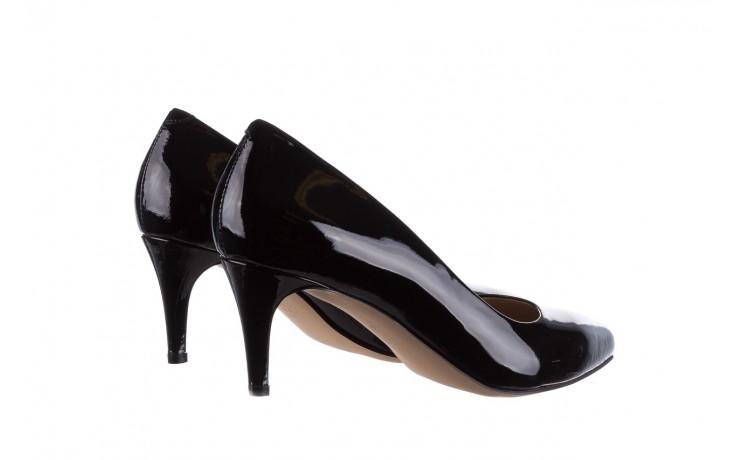 Czółenka bayla-182 6168 czarny lakier, skóra naturalna lakierowana  - skórzane - szpilki - buty damskie - kobieta 3