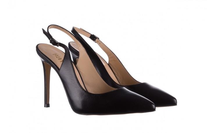 Sandały bayla-182 18122 czarne lico, skóra naturalna  - skórzane - szpilki - buty damskie - kobieta 1