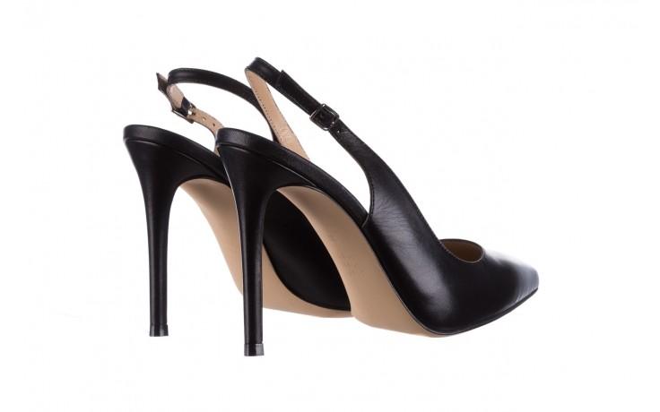 Sandały bayla-182 18122 czarne lico, skóra naturalna  - skórzane - szpilki - buty damskie - kobieta 3