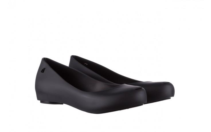 Baleriny melissa ultragirl basic ad black 19, czarny, guma - peep toe - baleriny - buty damskie - kobieta 1