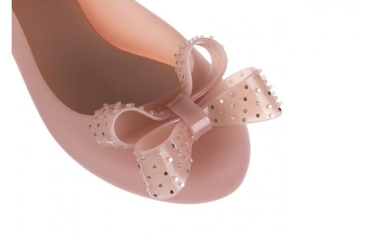 Baleriny melissa space love vi me ad light pink, róż, guma - melissa - nasze marki 5