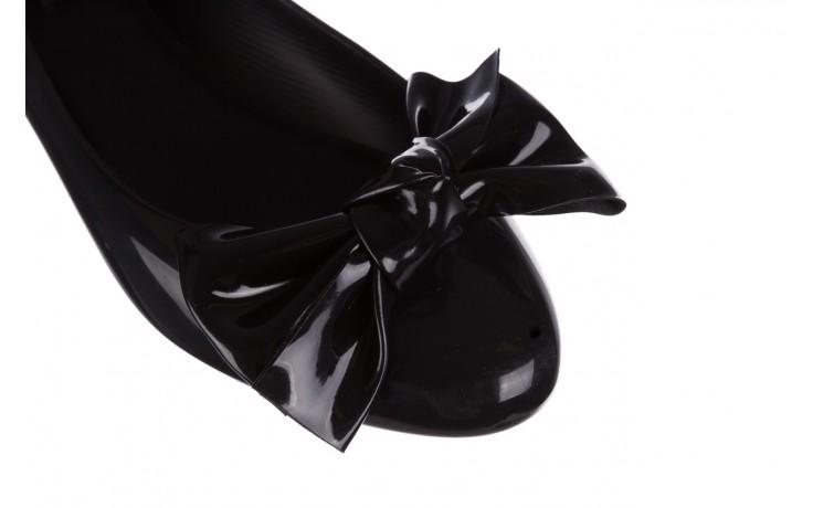 Baleriny melissa doll fem ii ad black 19, czarny, guma - melissa - nasze marki 5