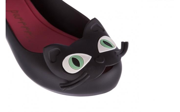 Baleriny melissa ultragirl cat ii ad black pink, czarny, guma - melissa - nasze marki 5