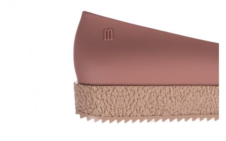 Baleriny melissa puzzle ad pink beige, róż, guma - melissa - nasze marki 6
