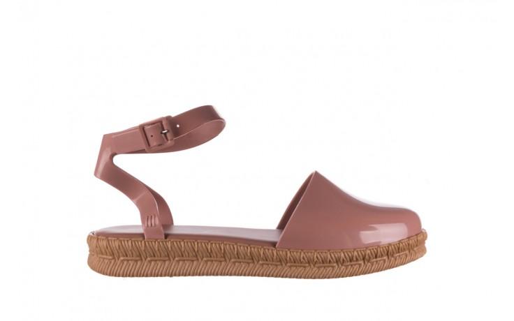 Sandały melissa espadrille + jason wu ad pink beige, róż, guma - melissa - nasze marki