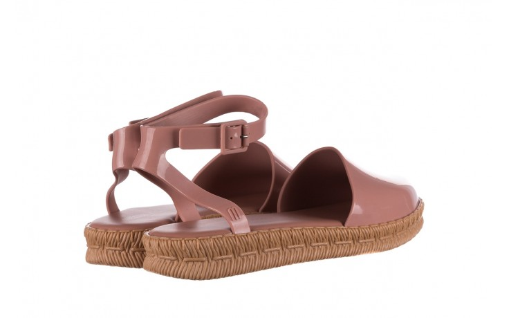 Sandały melissa espadrille + jason wu ad pink beige, róż, guma - melissa - nasze marki 3