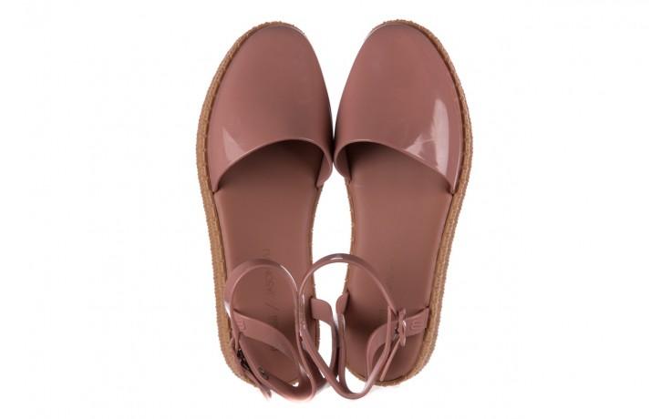 Sandały melissa espadrille + jason wu ad pink beige, róż, guma - melissa - nasze marki 4