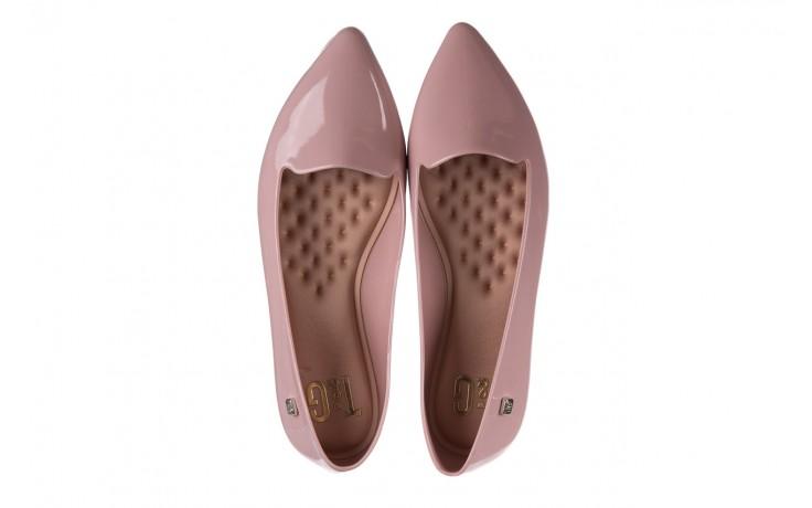 Baleriny t&g fashion 22-1444999 rosa, róż, guma - gumowe - baleriny - buty damskie - kobieta 4