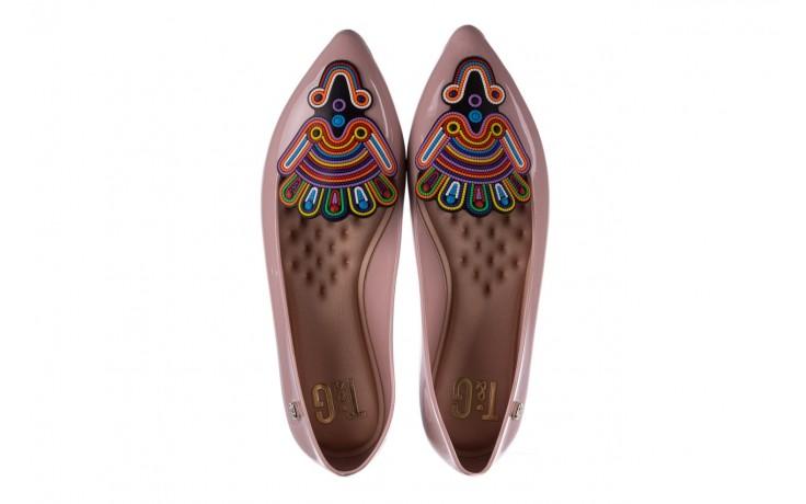 Baleriny t&g fashion 22-1444998 rosa, róż, guma - tg - nasze marki 4
