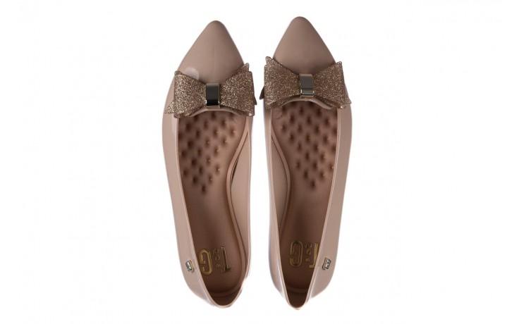 Baleriny t&g fashion 22-1448315 nude, beż, guma - tg - nasze marki 4