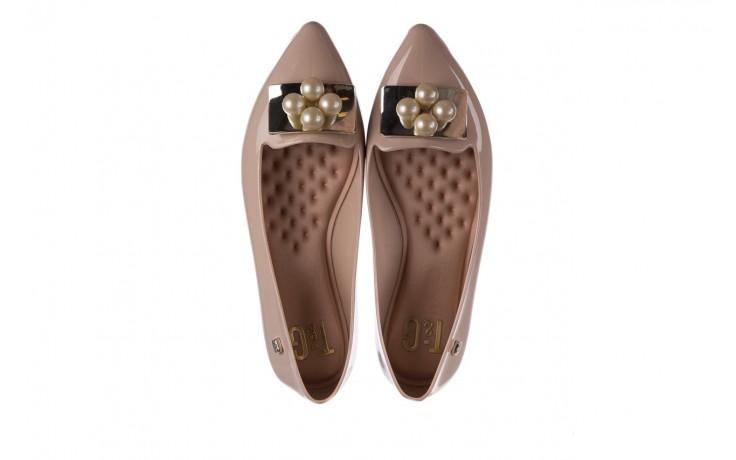 Baleriny t&g fashion 22-1448846 nude, beż, guma 4