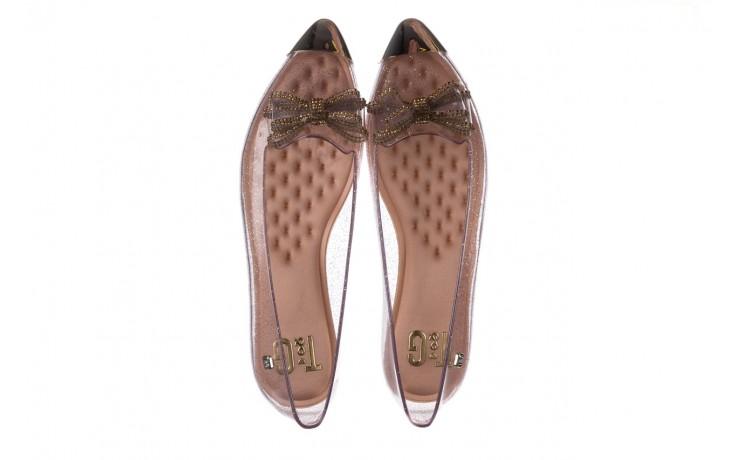Baleriny t&g fashion 22-1444997 ouro, złoty, guma - tg - nasze marki 4