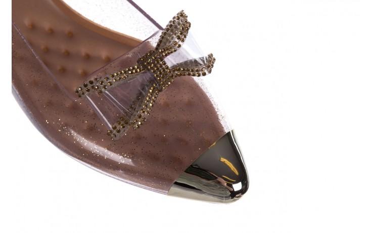 Baleriny t&g fashion 22-1444997 ouro, złoty, guma - tg - nasze marki 5