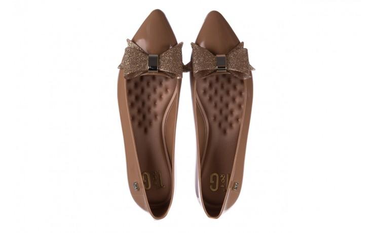 Baleriny t&g fashion 22-1448315 camel, brąz, guma - tg - nasze marki 4