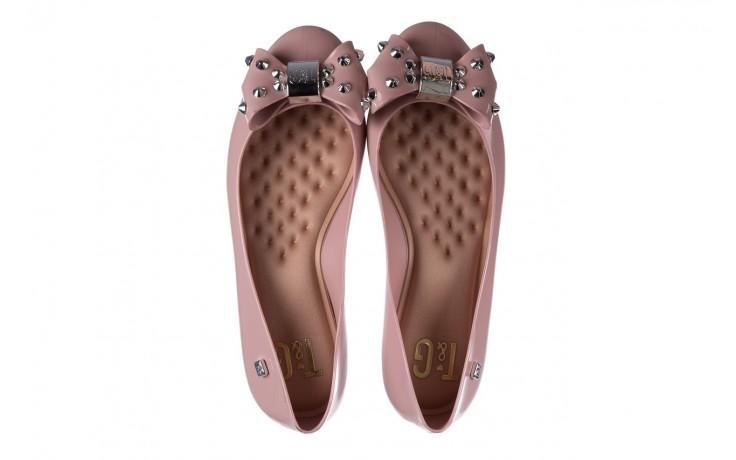 Baleriny t&g fashion 22-1458679 rosa, róż, guma - tg - nasze marki 4