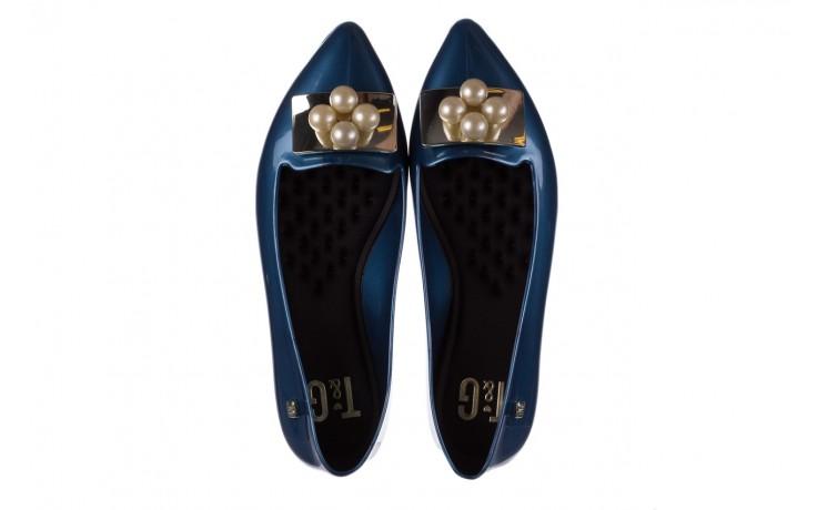 Baleriny t&g fashion 22-1448846 azul nautico, niebieski, guma - tg - nasze marki 4