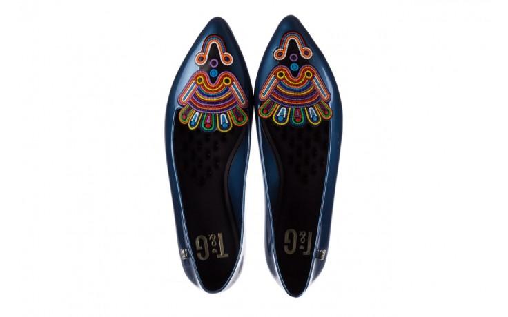Baleriny t&g fashion 22-1444998 azul nautico, niebieski, guma - tg - nasze marki 4