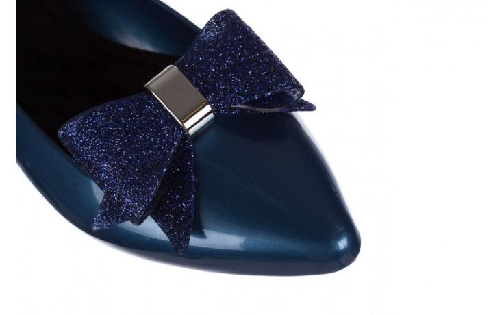 Baleriny t&g fashion 22-1448315 azul nautico, niebieski, guma - baleriny - dla niej  - sale 5