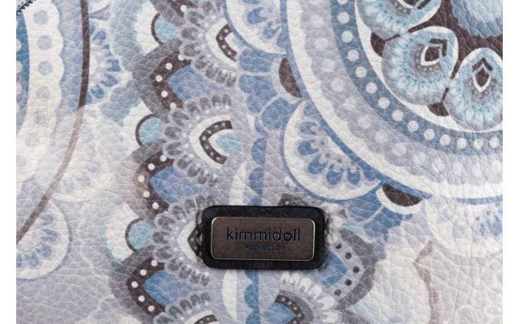 Plecak kimmidoll 28625-01 niebieski, skóra ekologiczna  - kimmidoll - nasze marki 3