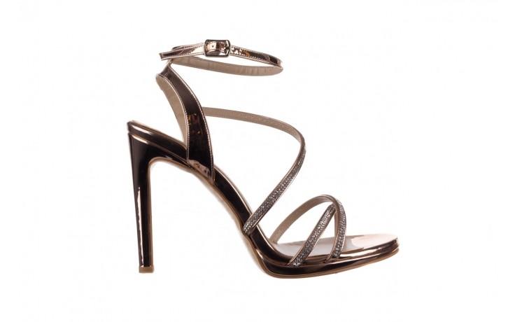 Sandały bayla-187 589-9078 róż j, skóra ekologiczna  - na obcasie - sandały - buty damskie - kobieta