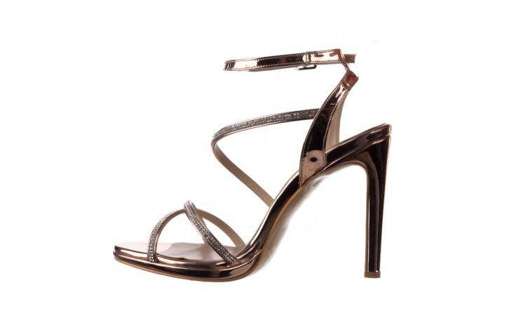Sandały bayla-187 589-9078 róż j, skóra ekologiczna  - na obcasie - sandały - buty damskie - kobieta 2