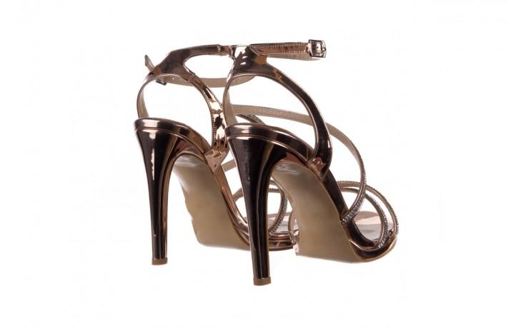 Sandały bayla-187 589-9078 róż j, skóra ekologiczna  - na obcasie - sandały - buty damskie - kobieta 3