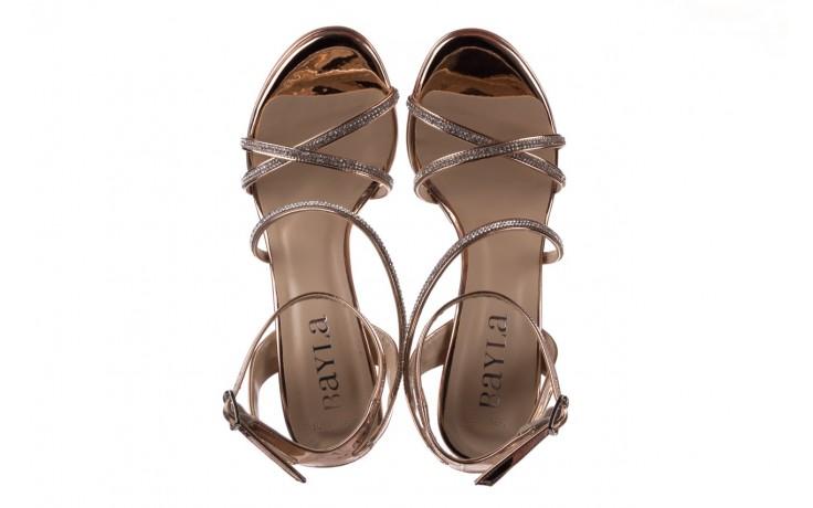 Sandały bayla-187 589-9078 róż, skóra ekologiczna  - bayla - nasze marki 4
