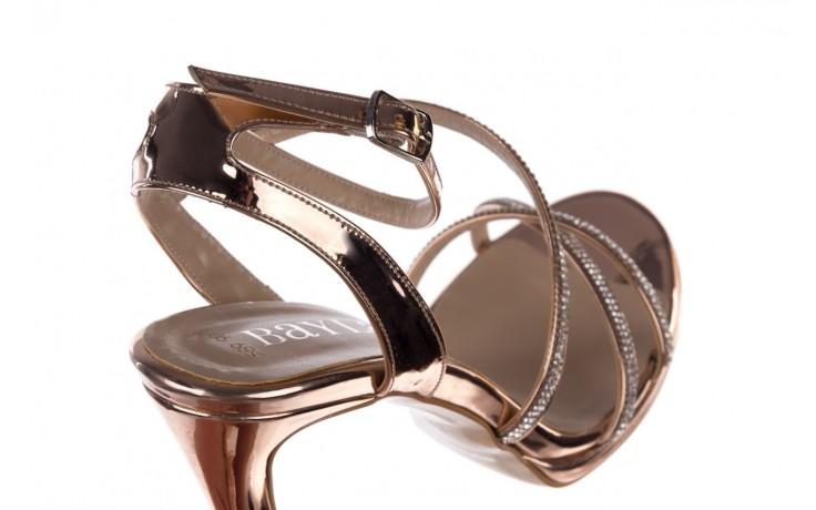 Sandały bayla-187 589-9078 róż j, skóra ekologiczna  - na obcasie - sandały - buty damskie - kobieta 5