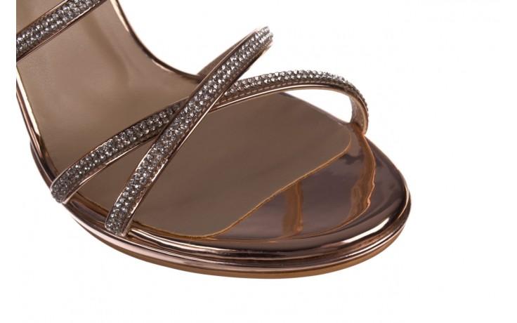 Sandały bayla-187 589-9078 róż j, skóra ekologiczna  - na obcasie - sandały - buty damskie - kobieta 6