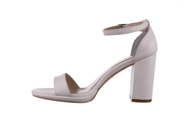 Sandały bayla-187 587-571 biały, skóra ekologiczna  - peep toe - czółenka - buty damskie - kobieta 2