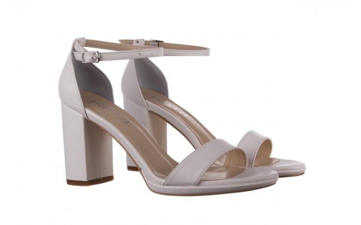 Sandały bayla-187 587-571 biały, skóra ekologiczna  - peep toe - czółenka - buty damskie - kobieta 1